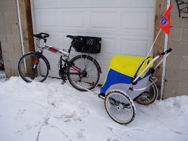 Bike and shopper2