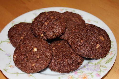 Chocolatepeanutbuttercookies
