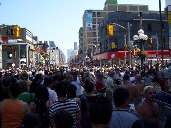 Toronto Pride Parade 2007 at Yonge & Bloor